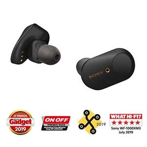 Sony WF-1000XM3 draadloze noise cancelling earphones @Amazon.es