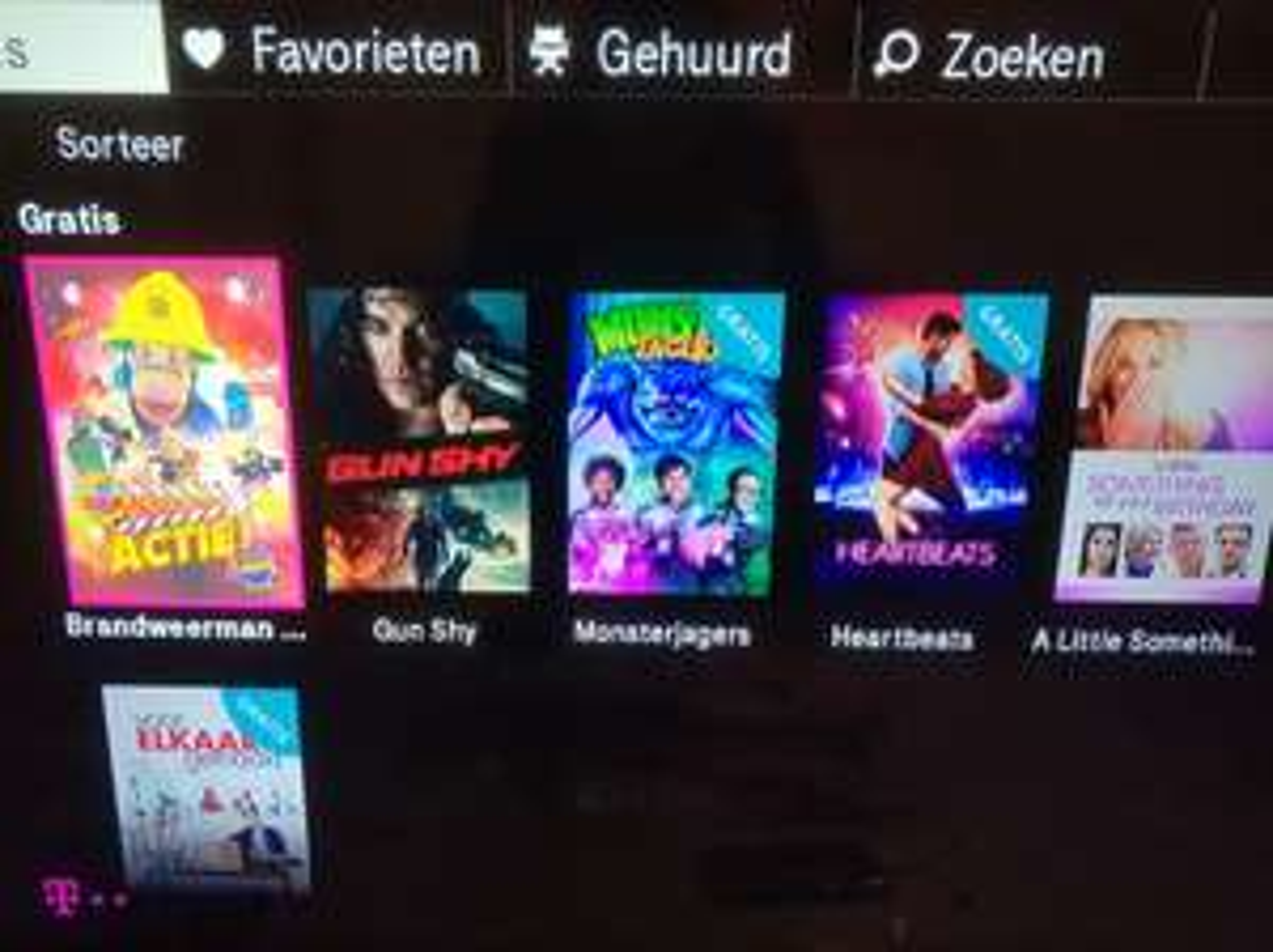 5 gratis films @ T-Mobile thuis TV