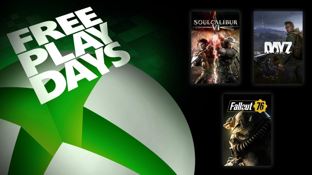 Free Play Days – Soulcalibur VI, DayZ en Fallout 76 @ Xbox Store