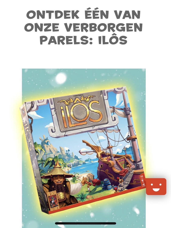 Ilôs bordspel adventkalander aanbieding 999 Games