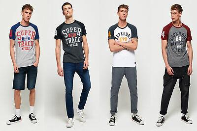 Superdry Trackster Baseball T-Shirt @Ebay