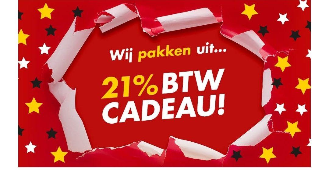 BeterBed Nú 21% BTW korting op bijna alles!*
