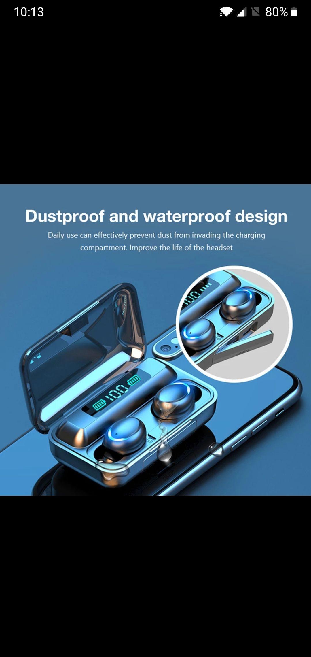 F9-5 TWS 5.0 Bluetooth Oortelefoon