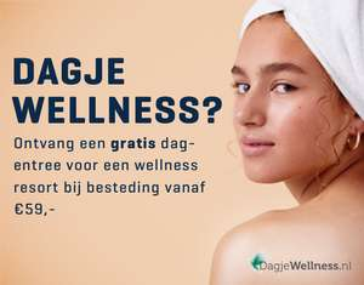 Gratis Wellness voucher bij besteding van 59 euro of meer bij Body&Fit