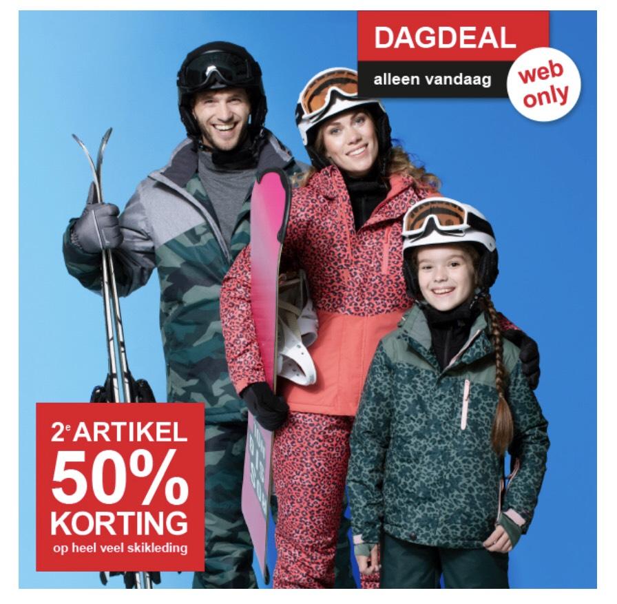 Skikleding 2e 50% korting