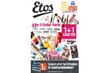 Loreal Paris & Nivea 1+1 Gratis @ etos