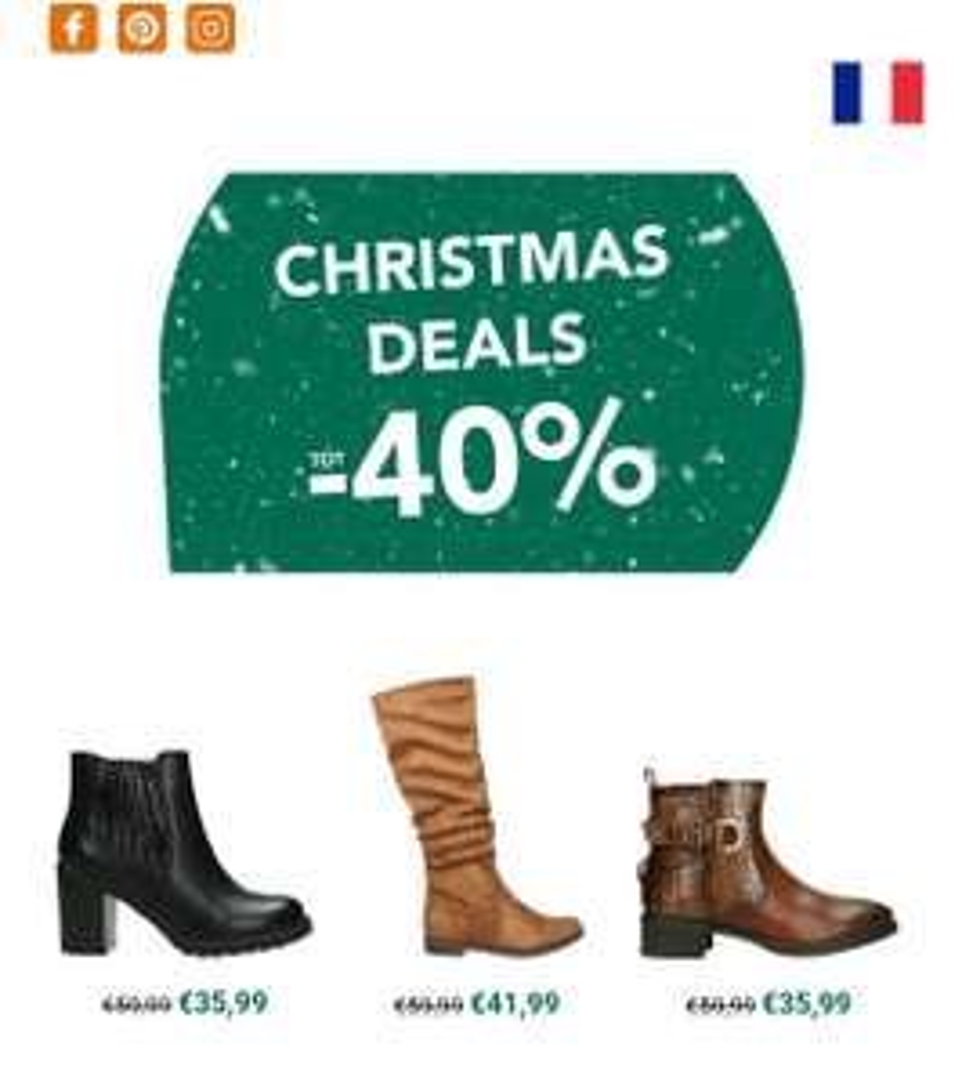 Christmas deals bij Berca tot -80%