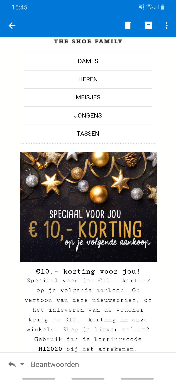 €10 korting bij durlinger vanaf €49.95