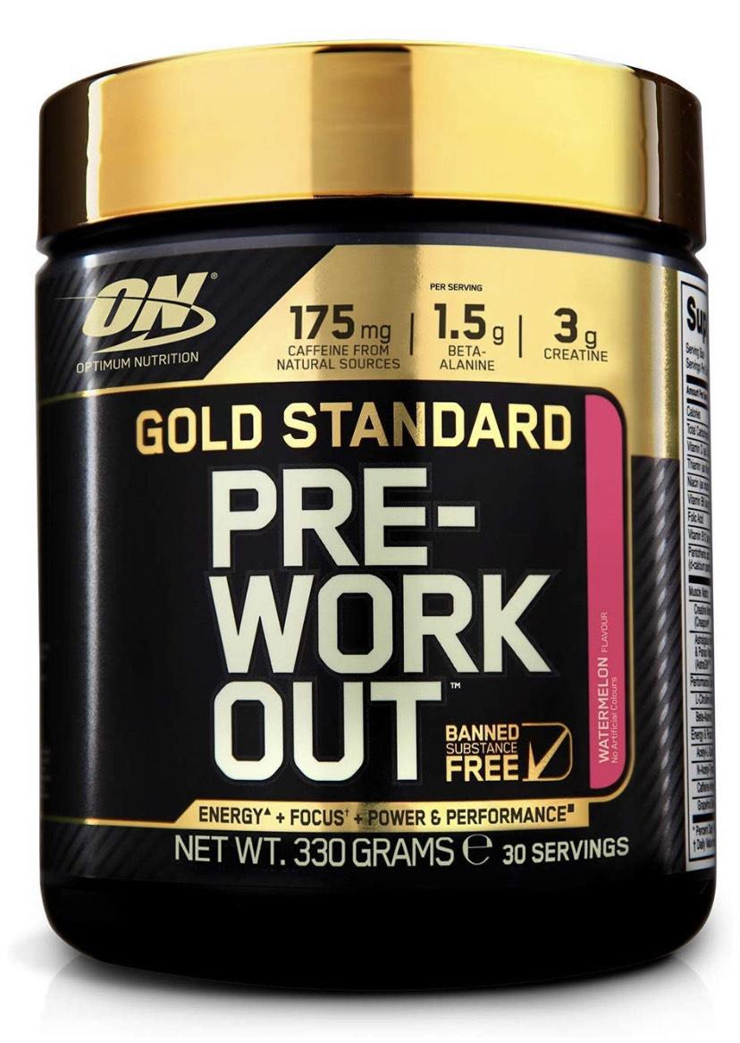 Gold standard pre workout watermelon