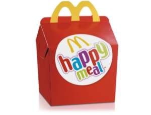 Happy Meal voor €3 - McDonald's Cadeau Kalender