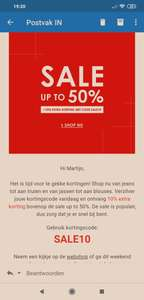 Jean Centre Extra korting code 10%