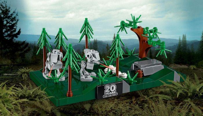 LEGO 40333 Battle of endor gratis bij besteding van 50€ aan starwars