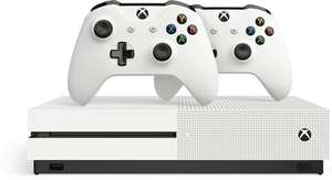 Xbox One S console 1TB + 2 twee controllers @ Bol.com