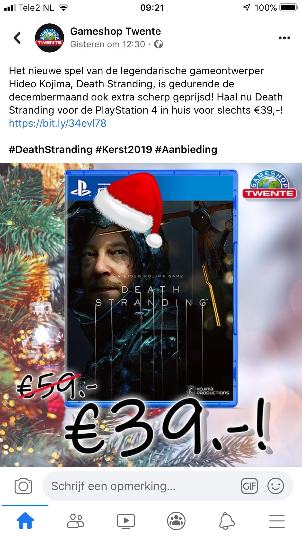 [lokaal] Death stranding ps4