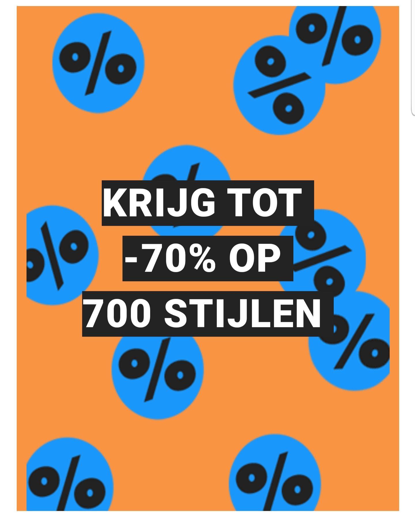 Tot 70% korting op 700 stijlen @ASOS