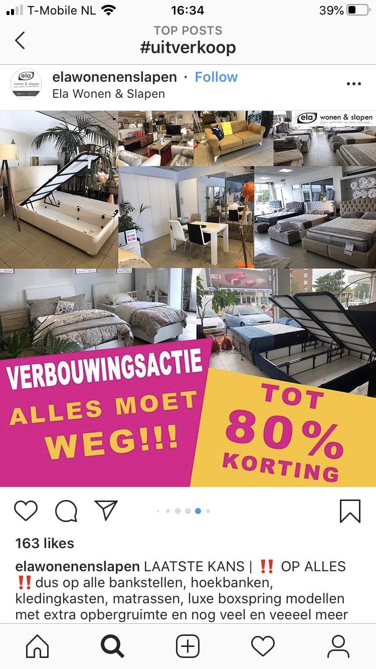 Verbouwingsactie Ela wonen en slapen Rotterdam