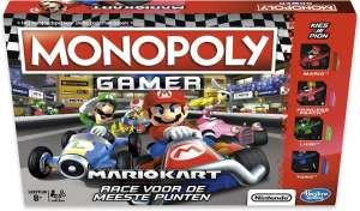 Monopoly gamer: Mario kart hoge korting @bol.com