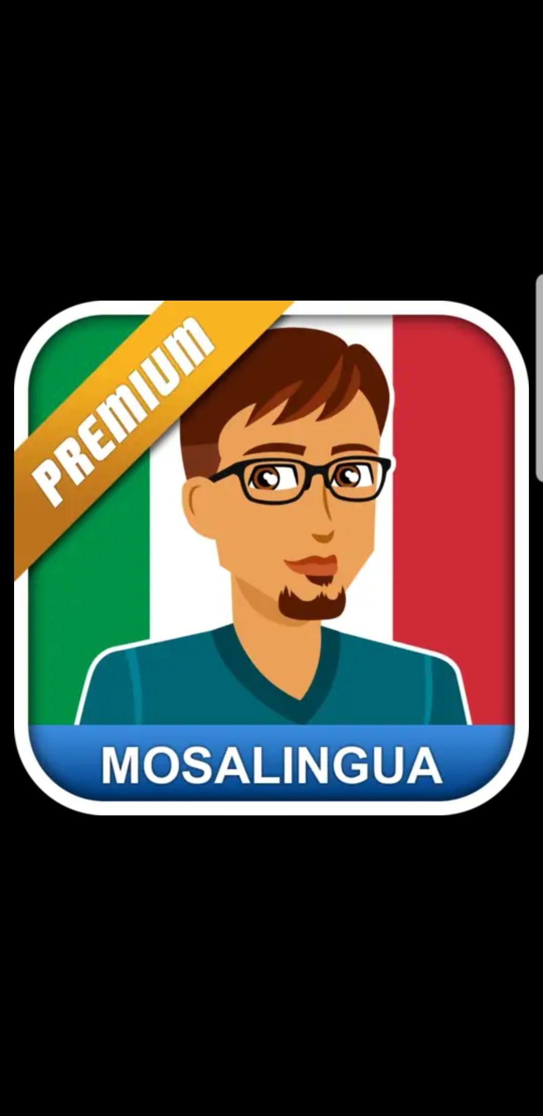 MosaLingua taal app Italiaans (tijdelijk gratis) play store