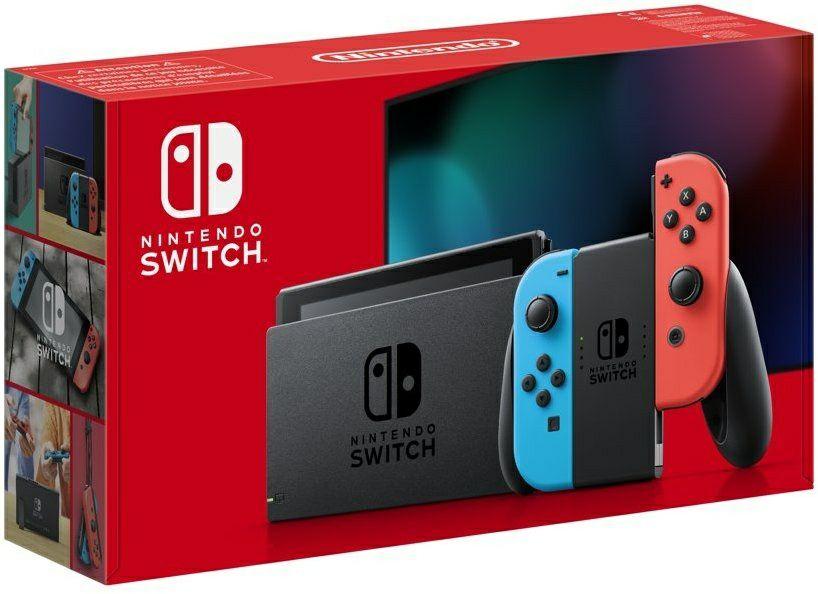 Nintendo Switch (2019) Rood / Blauw