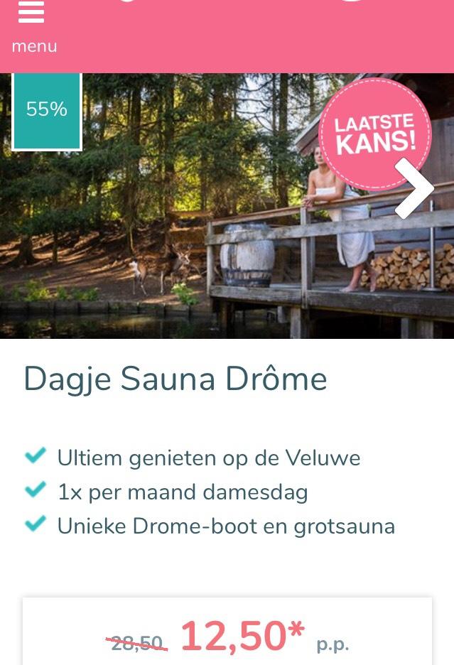 Dagje sauna Drôme