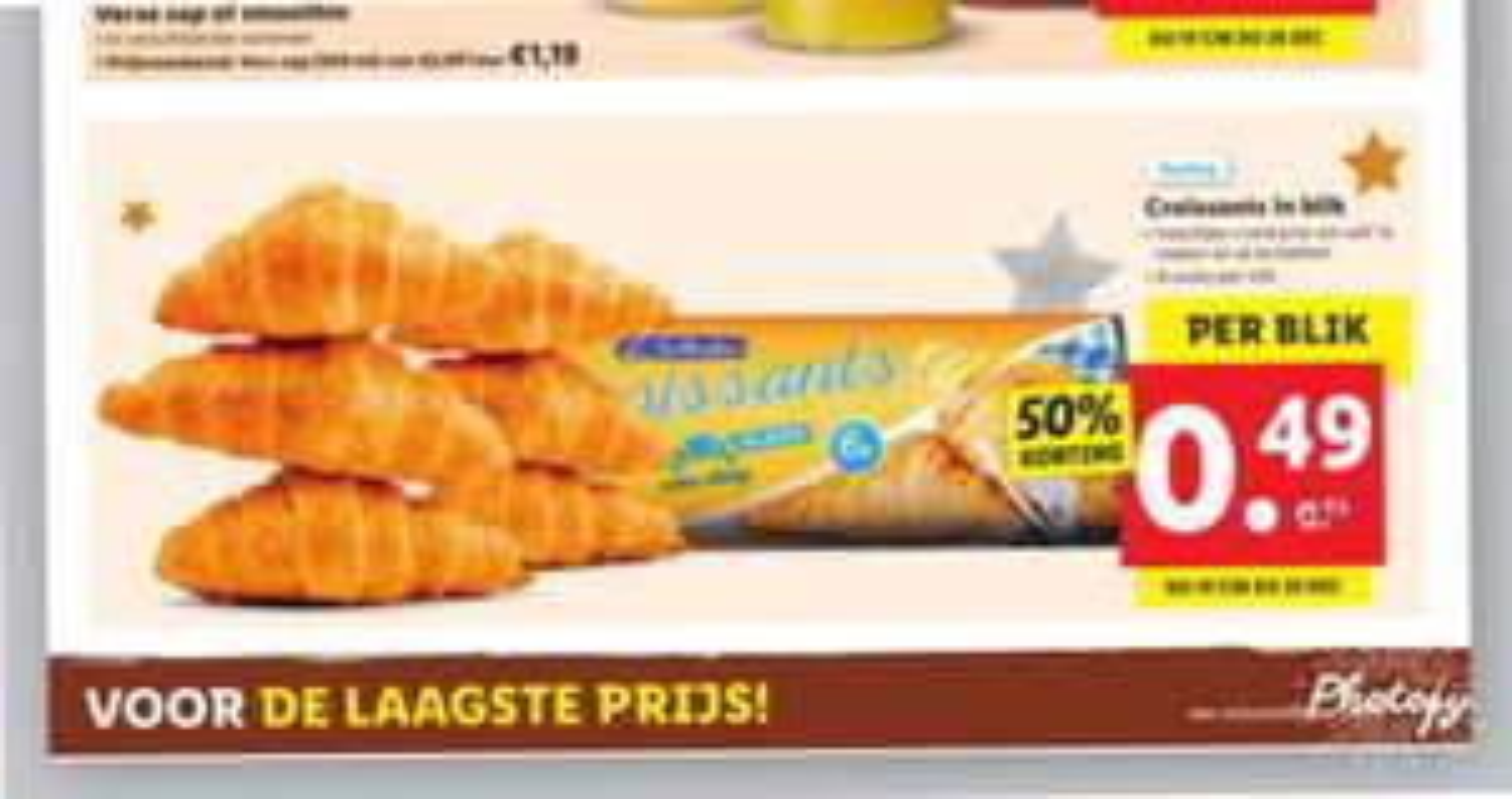 Lidl afbak croissants