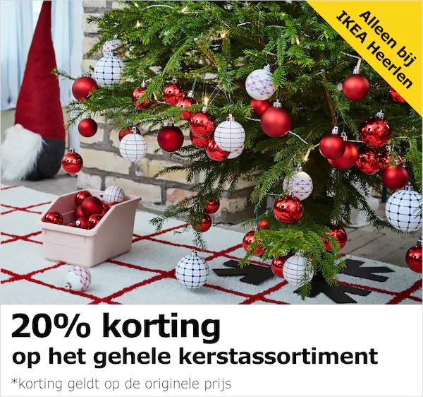 (IKEA Heerlen) 20% korting op het gehele kerstassortiment