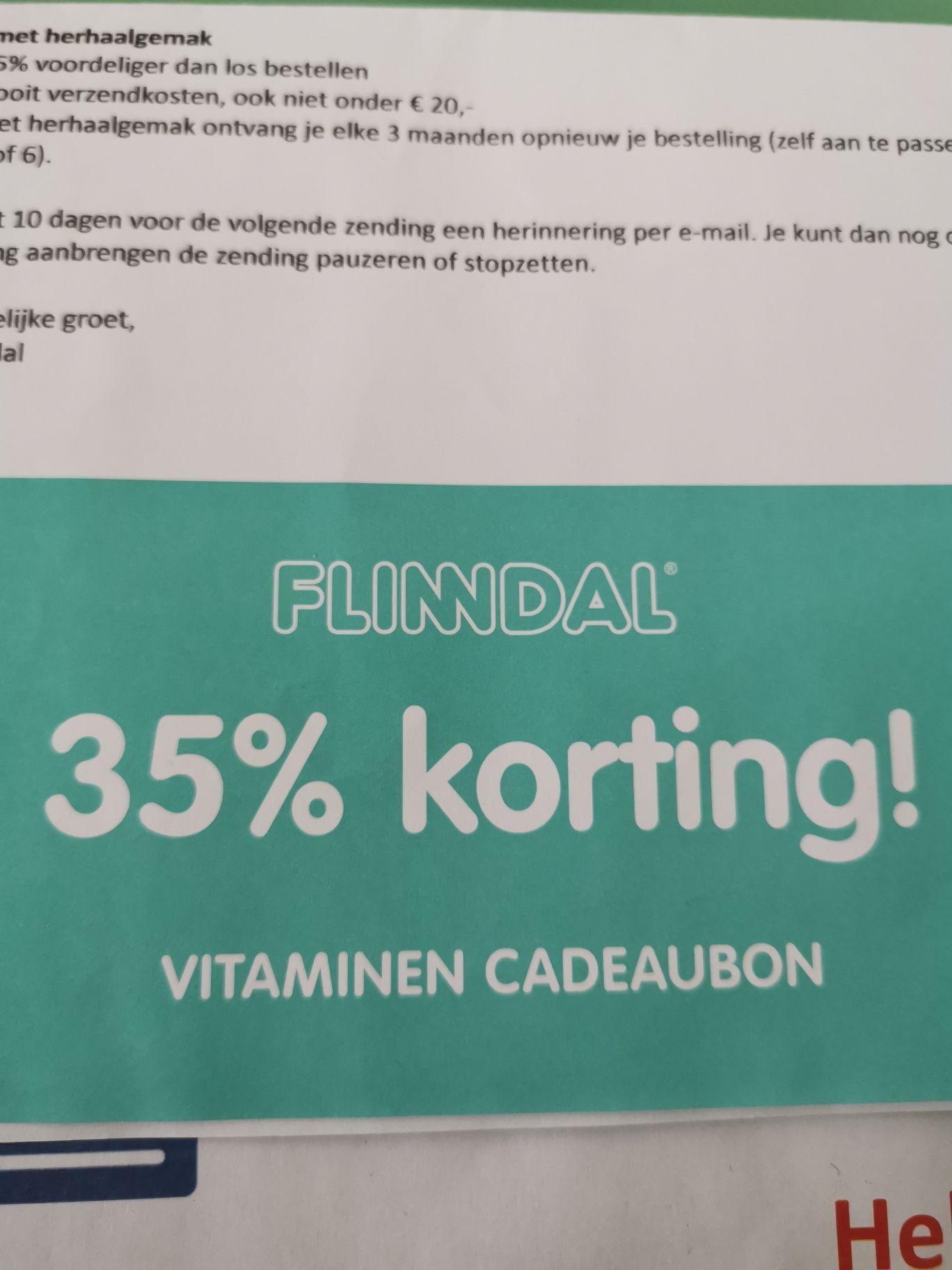 -35% kortingcode op ALLES van Flinndal.nl