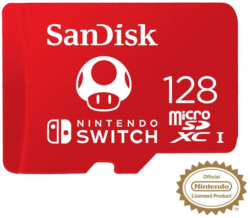 Sandisk 128GB microSDXC voor de Nintendo Switch (versie 2019)