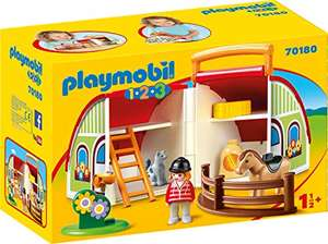 [Amazon Prime] PLAYMOBIL 123 Mijn meeneem manege