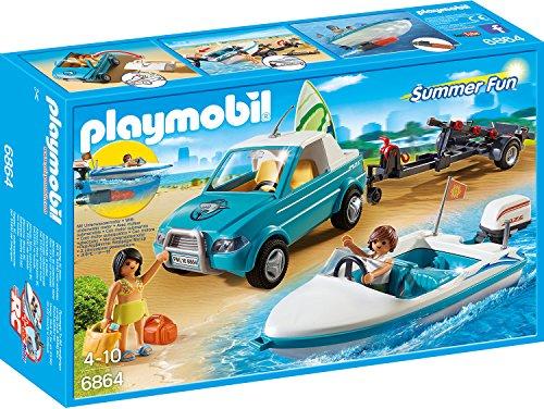Playmobil 6864 – surfer-pickup met Speedboat
