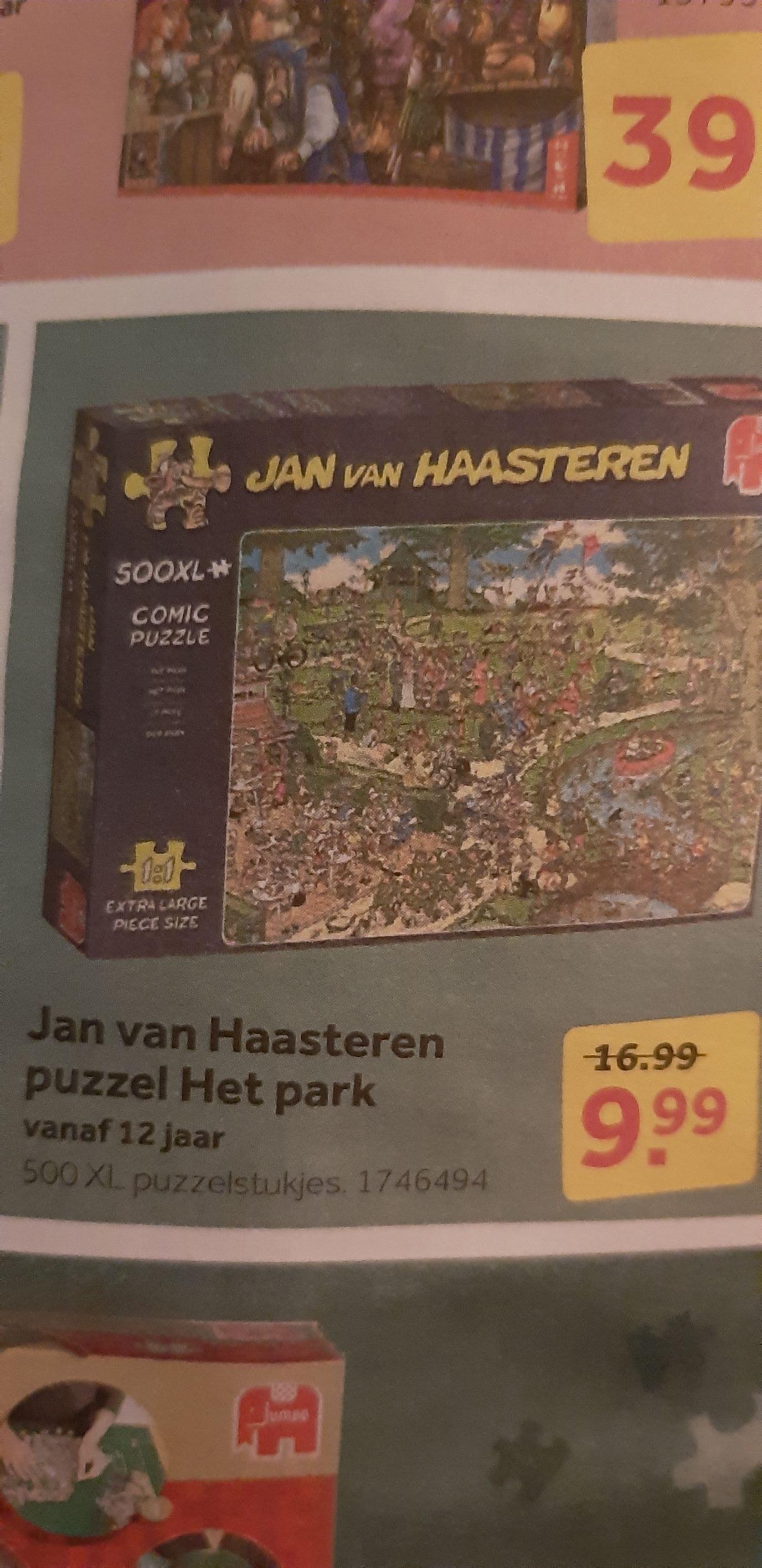 Jan van Haasteren puzzels 9,99 ipv 16,99 | Intertoys