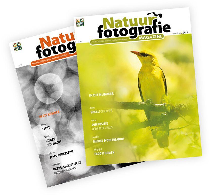 Gratis proefexemplaar natuurfotografie magazine