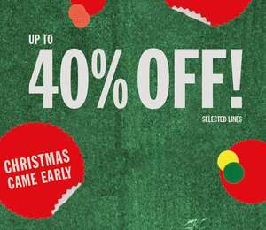 Christmas came early: tot 40% korting bij urban outfitters (online)