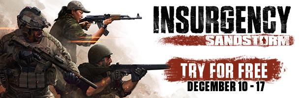 Speel Insurgency : Sandstorm gratis op steam t/m 17 december