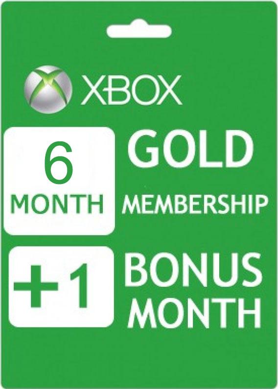 7 maanden Xbox Live Gold voor €15,42 @ CDKeys.com