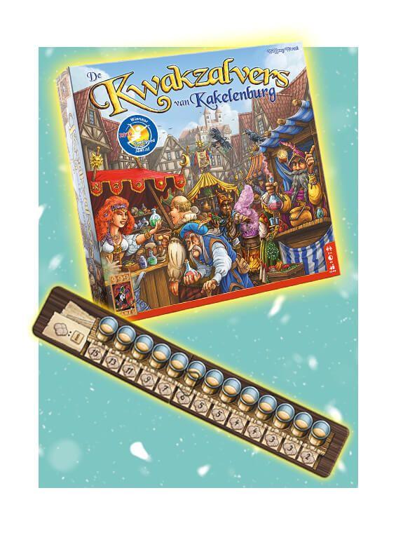 Bordspel de kwakzalvers van Kakelenburg met korting en gratis uitbreiding