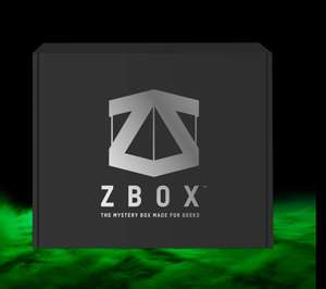 Zavvi Black Friday mystery ZBOX - 10 items w.o. 2x Pop!