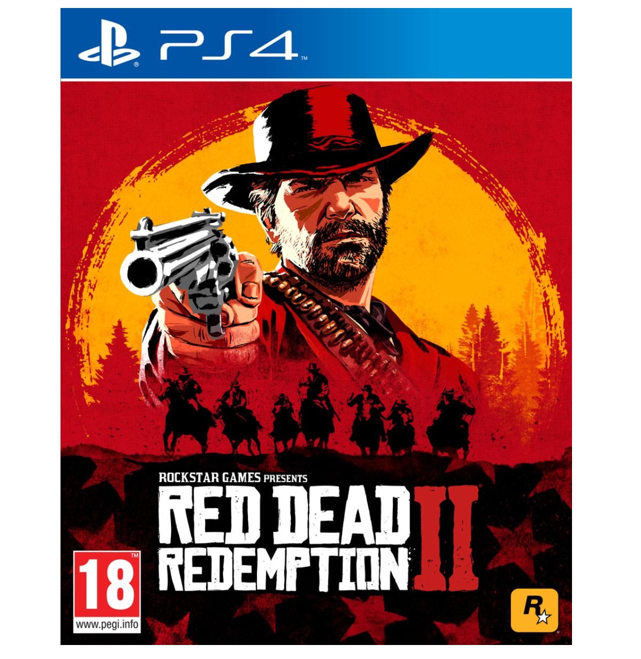 Dagdeal: Red Dead Redemption 2 voor PS4 voor €24,99 @Bol.com