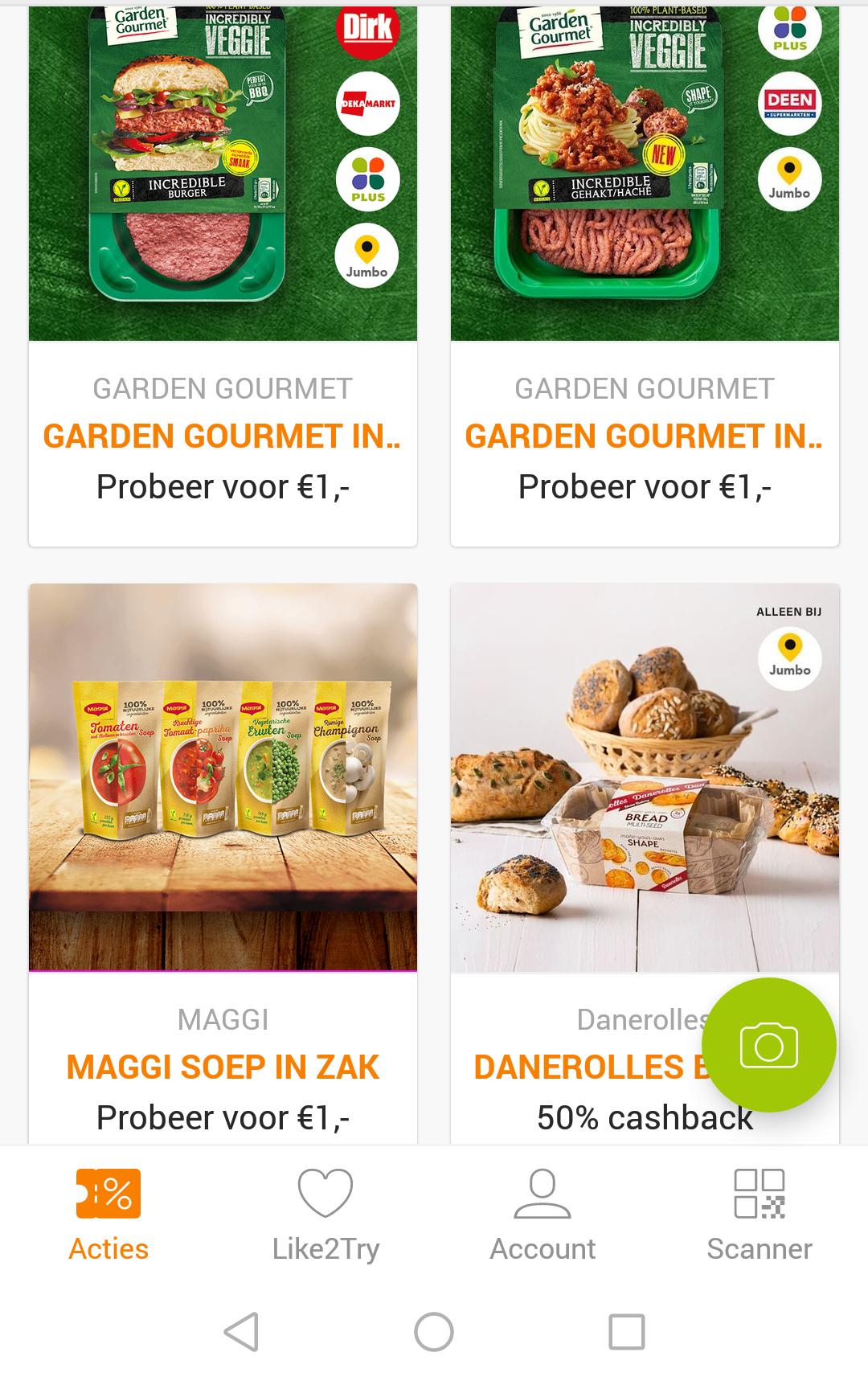 Maggi Soep & 2 maal Garden Gourmet voor €1