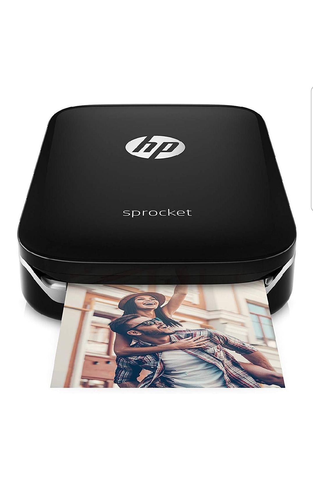 HP Sprocket z3z92 a – Fotoprinter Instant Notebook, zwart (foto 5 x 7,6 cm) [Dagdeal]