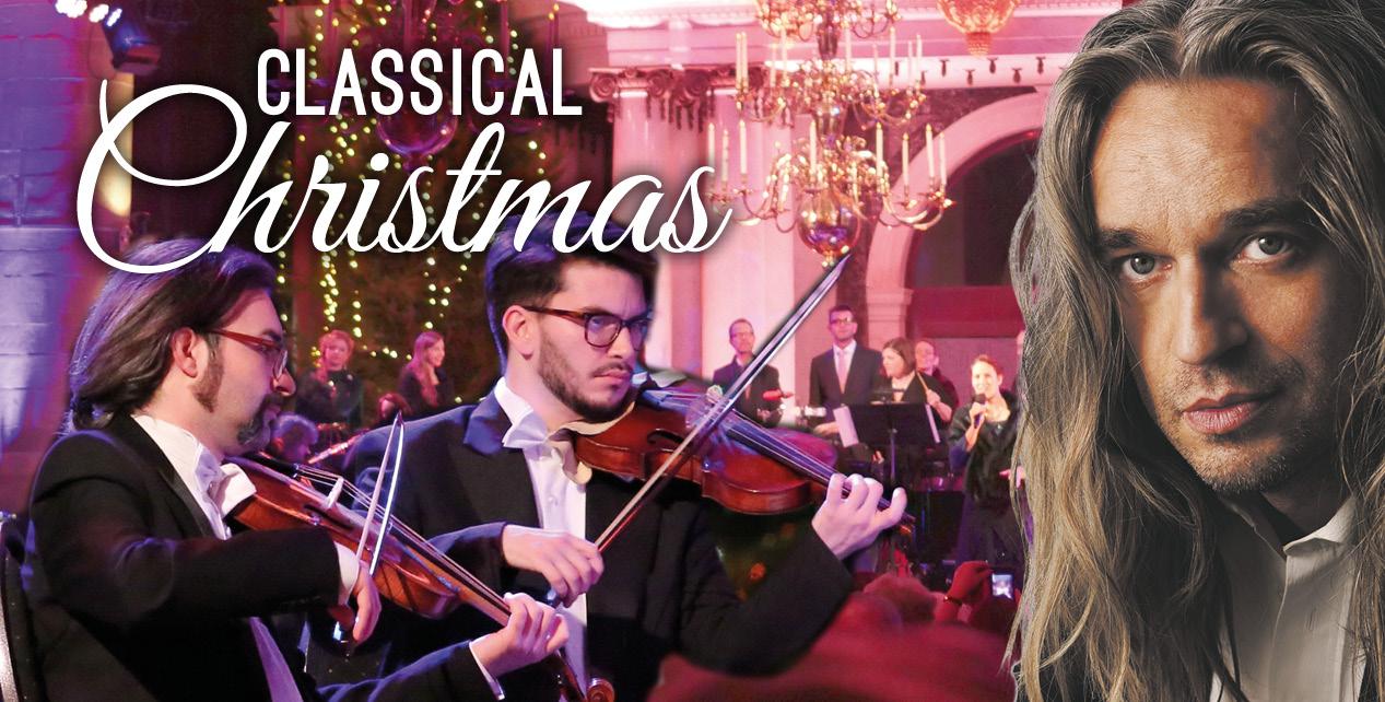 Gratis 1e rang upgrade & 50% korting op Classical Christmas 2020 door The Bach Choir & Orchestra of the Netherlands en pianist Jan Vayne