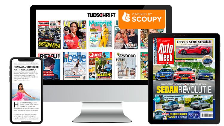 3 maanden tijdschriften via tijdschrift.nl