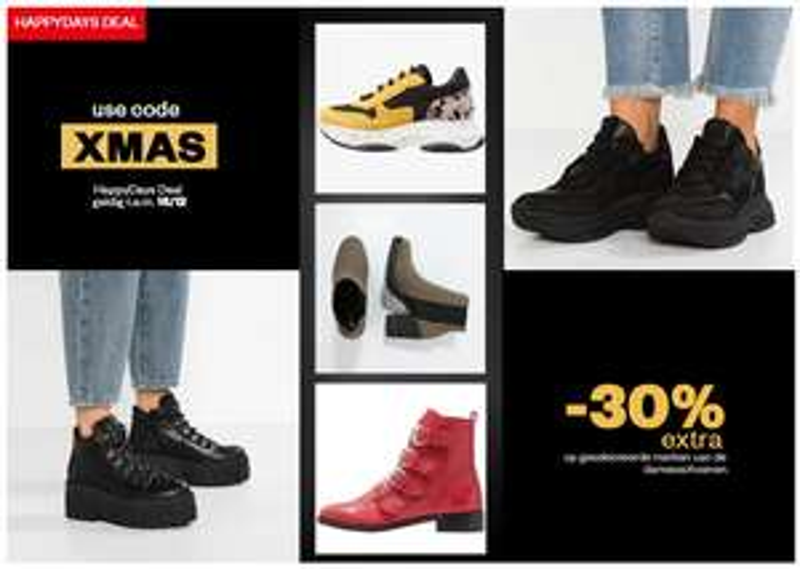 30% extra korting op dames schoenen bij Maison-Lab