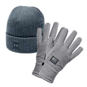 Under Armour 2-delige winter accessoire set + gratis verzending t.w.v. €9,95 @ Geomix