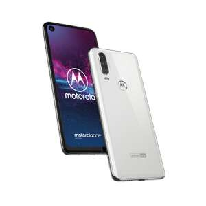 Smartphone Motorola One Action Wit of Blauw voor €179,99 @ lenovo