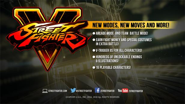 Streetfighter V - Nu tijdelijk gratis te spelen [Steam]