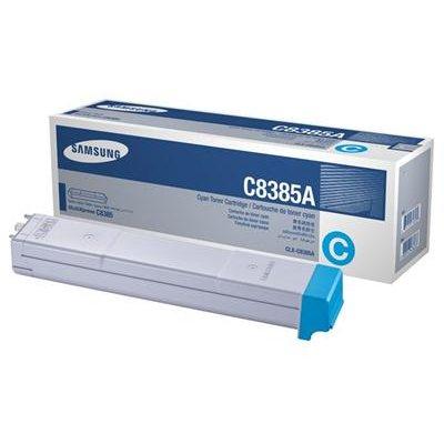 Samsung toner cartridge cyaan  CLX-C8385A voor € 75,95 @ 4AllShop