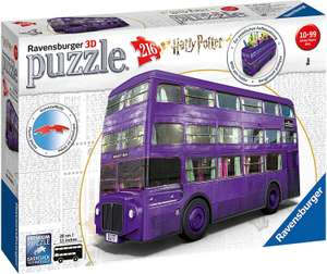 Ravensburger Harry Potter bus 3D Puzzel (€13.08 met prime)