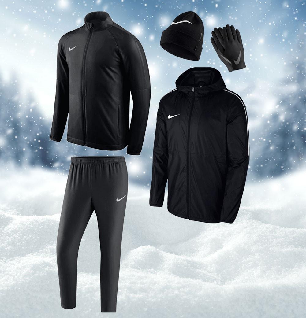 Nike 5-delige winterset + met code gratis verzending à €9,95 @ Geomix
