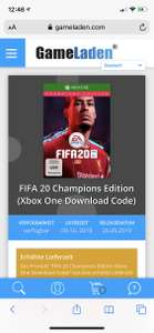 FIFA 20 ULTIMATE EDITION XBOX SPOT GOEDKOOP
